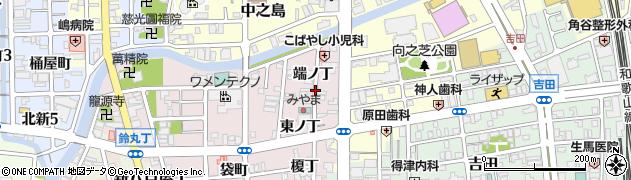 和歌山県和歌山市畑屋敷(端ノ丁)周辺の地図