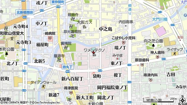 〒640-8398 和歌山県和歌山市畑屋敷松ケ枝丁の地図