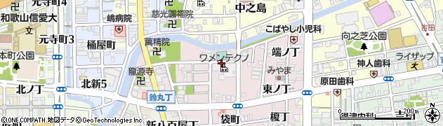 和歌山県和歌山市畑屋敷(松ケ枝丁)周辺の地図