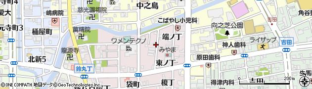 和歌山県和歌山市畑屋敷(千体仏丁)周辺の地図