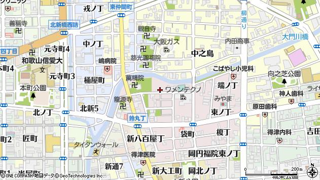 〒640-8397 和歌山県和歌山市畑屋敷新道丁の地図