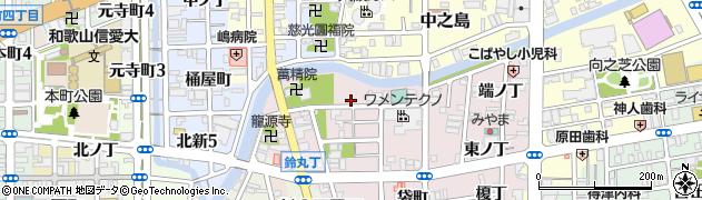 和歌山県和歌山市畑屋敷(新道丁)周辺の地図