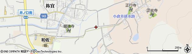 和歌山県和歌山市井ノ口周辺の地図