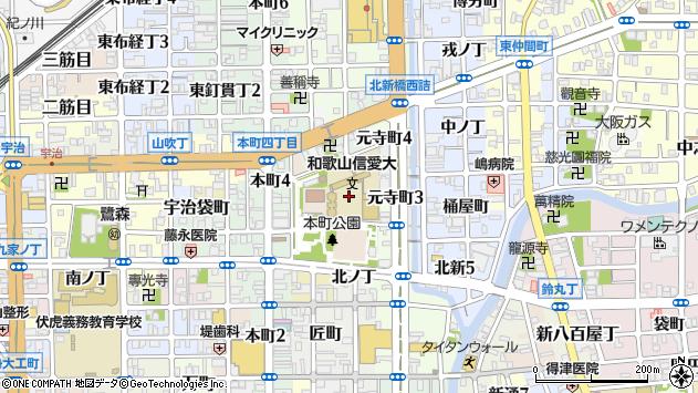 〒640-8022 和歌山県和歌山市住吉町の地図