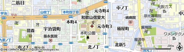 和歌山県和歌山市住吉町周辺の地図