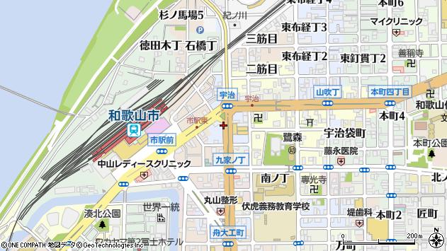 〒640-8211 和歌山県和歌山市西布経丁の地図