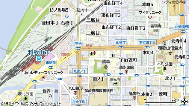 〒640-8057 和歌山県和歌山市鷺ノ森新道の地図