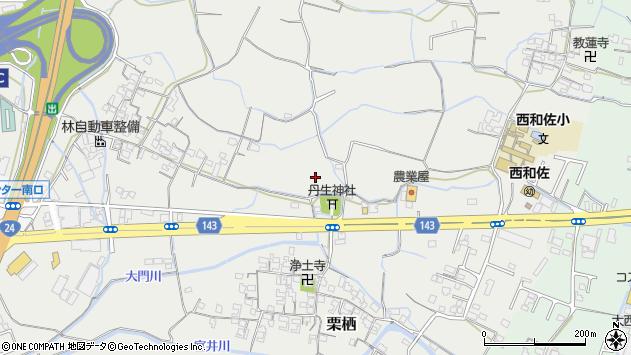 〒640-8305 和歌山県和歌山市栗栖の地図