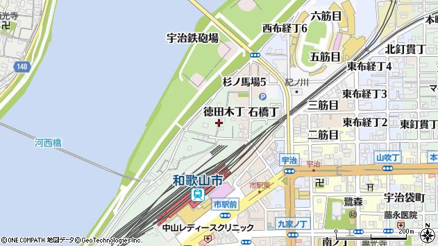 〒640-8201 和歌山県和歌山市石橋丁の地図