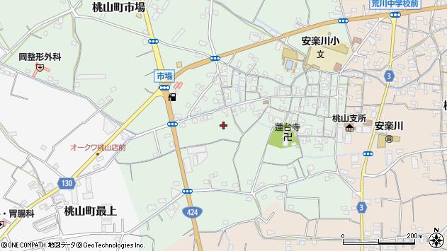 〒649-6124 和歌山県紀の川市桃山町市場の地図