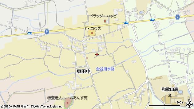 〒649-6273 和歌山県和歌山市東田中の地図