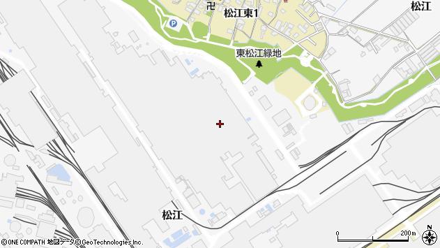 〒640-8421 和歌山県和歌山市松江の地図