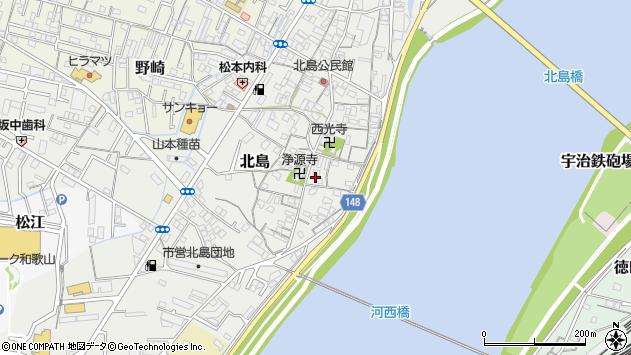 〒640-8403 和歌山県和歌山市北島の地図