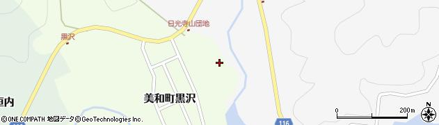 山口県岩国市美和町黒沢周辺の地図