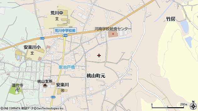〒649-6122 和歌山県紀の川市桃山町元の地図