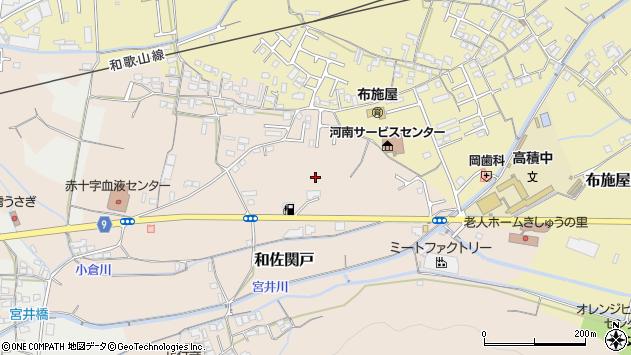 〒649-6322 和歌山県和歌山市和佐関戸の地図