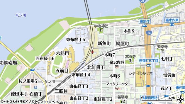 〒640-8075 和歌山県和歌山市源蔵馬場の地図