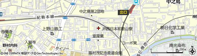栗源院周辺の地図