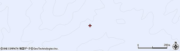山口県萩市佐々並周辺の地図