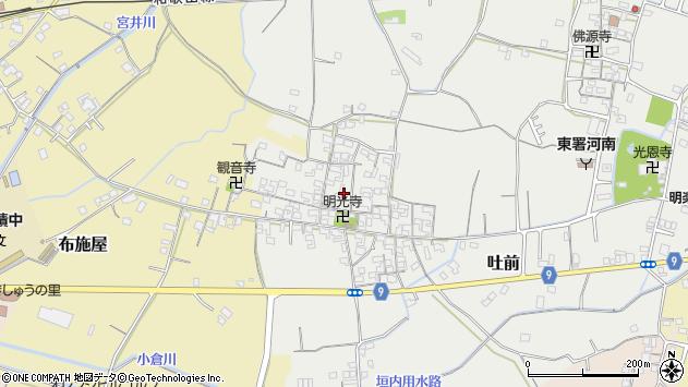 〒649-6275 和歌山県和歌山市吐前の地図