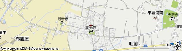 和歌山県和歌山市吐前周辺の地図