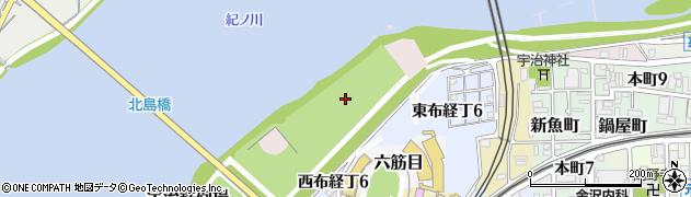 和歌山県和歌山市宇治鉄砲場周辺の地図
