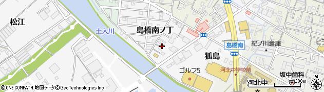 和歌山県和歌山市島橋南ノ丁周辺の地図