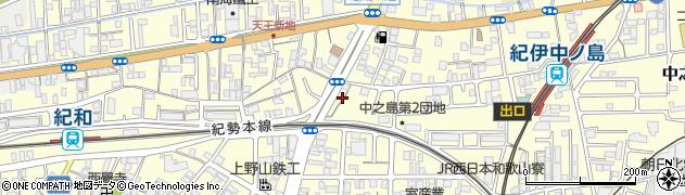 かわせ天王周辺の地図