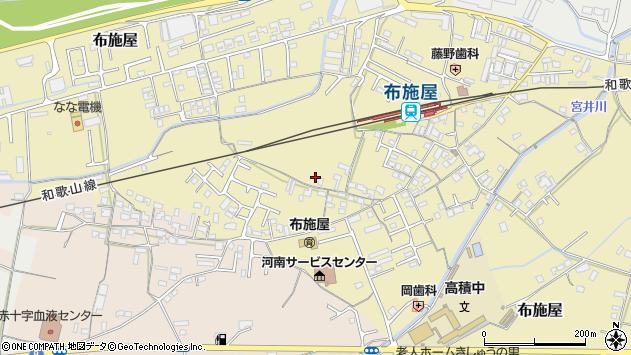 〒649-6321 和歌山県和歌山市布施屋の地図