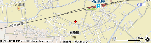 和歌山県和歌山市布施屋周辺の地図