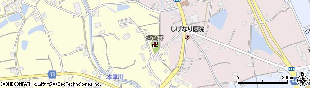 郷賢寺周辺の地図