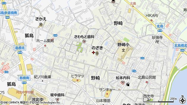 〒640-8402 和歌山県和歌山市野崎の地図