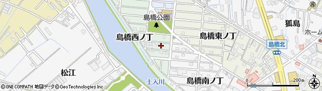 和歌山県和歌山市島橋西ノ丁周辺の地図