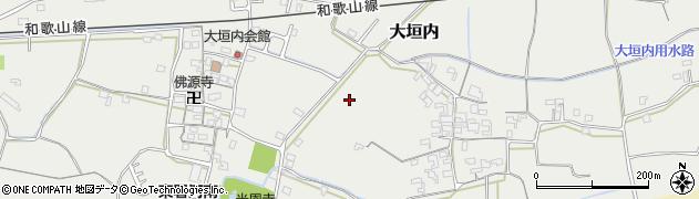 和歌山県和歌山市大垣内周辺の地図