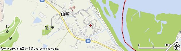 和歌山県岩出市山崎周辺の地図
