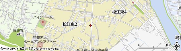 和歌山県和歌山市松江東周辺の地図