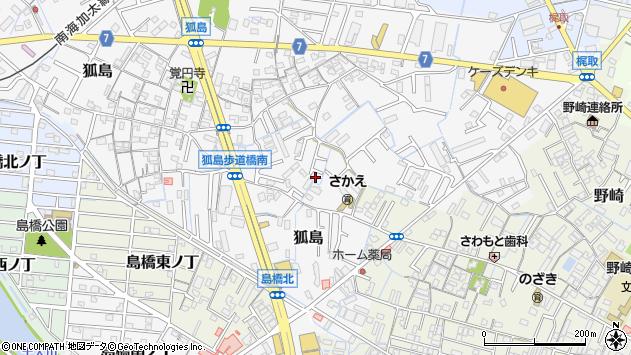 〒640-8412 和歌山県和歌山市狐島の地図