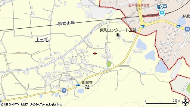 〒649-6262 和歌山県和歌山市上三毛の地図