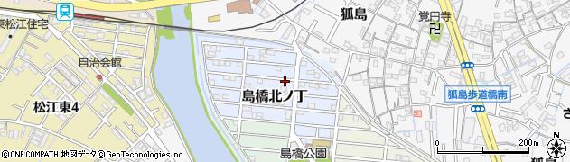 和歌山県和歌山市島橋北ノ丁周辺の地図
