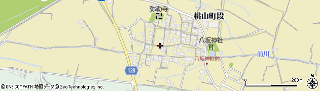 和歌山県紀の川市桃山町段周辺の地図