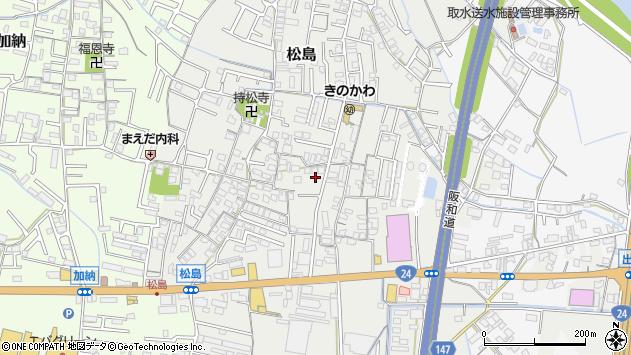 〒640-8304 和歌山県和歌山市松島の地図