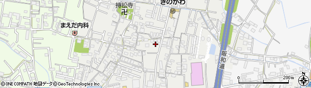 和歌山県和歌山市松島周辺の地図