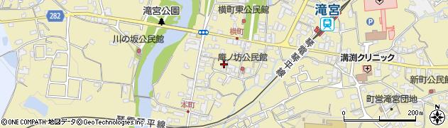 香川県綾歌郡綾川町滝宮周辺の地図