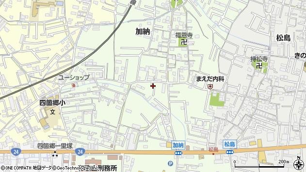 〒640-8391 和歌山県和歌山市加納の地図