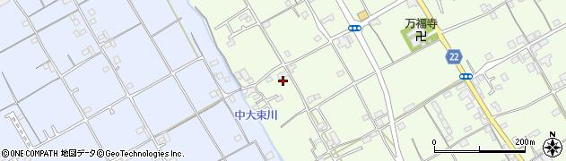 香川県丸亀市綾歌町富熊旭南周辺の地図