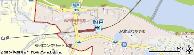 和歌山県岩出市周辺の地図