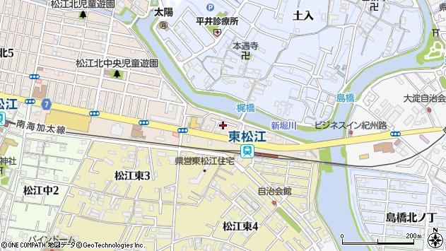 〒640-8425 和歌山県和歌山市松江北の地図