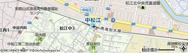 和歌山県和歌山市周辺の地図