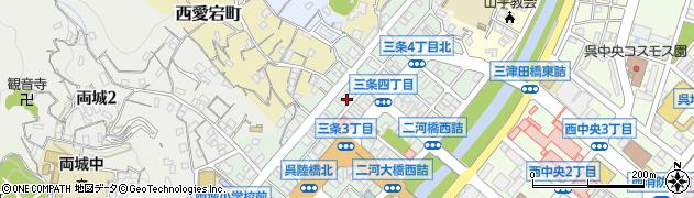 明西寺周辺の地図
