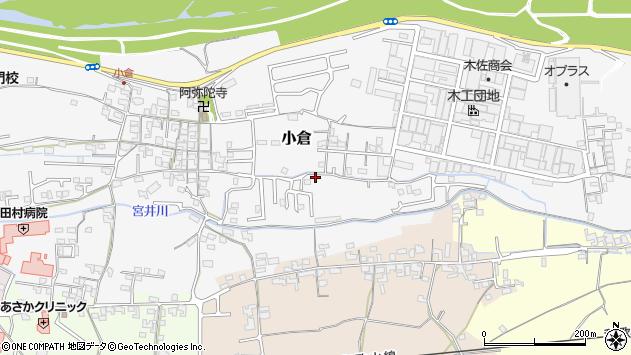 〒649-6261 和歌山県和歌山市小倉の地図